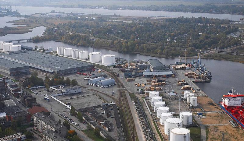 PARS termināls infrastruktūra